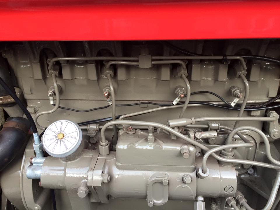 Massey Ferguson FE 35 4cyl Heater Plug Conversion Otmoor